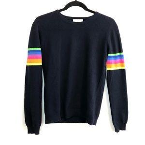 Jumper 1234 Cashmere Rainbow Stripe Top 1